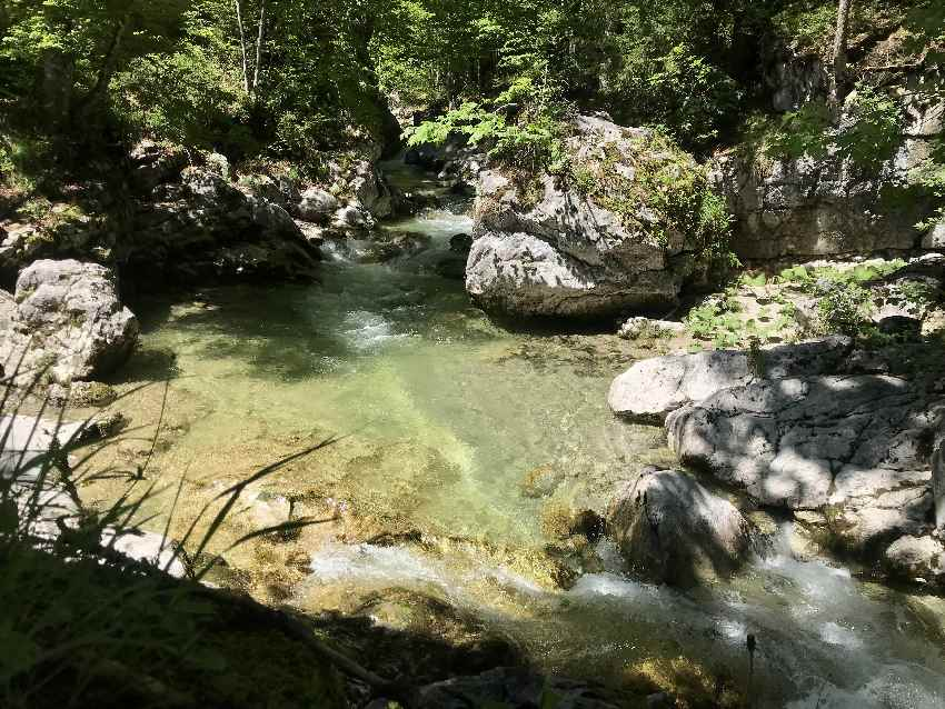 Tatzelwurm Wasserfälle Wanderung