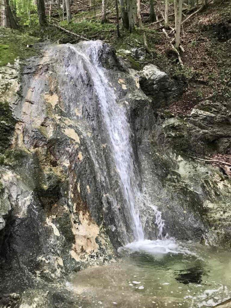 Die Wolfsschlucht mit Wasserfällen im Inntal gehört für mich zu den Oberaudorf Sehenswürdigkeiten