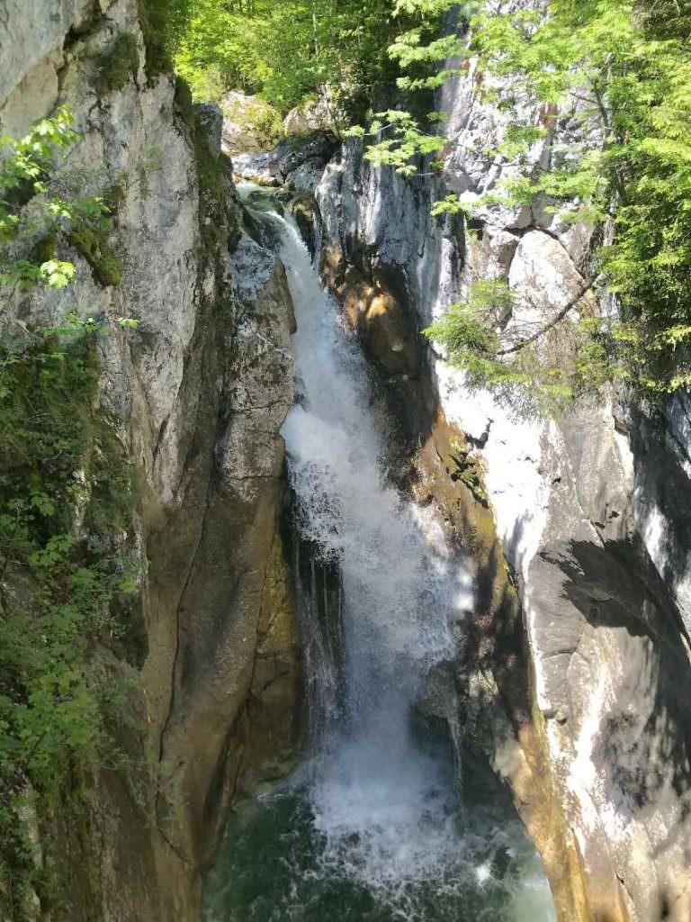 Oberer Tatzelwurm Wasserfall - gehört zu den Top - Oberaudorf Sehenswürdigkeiten