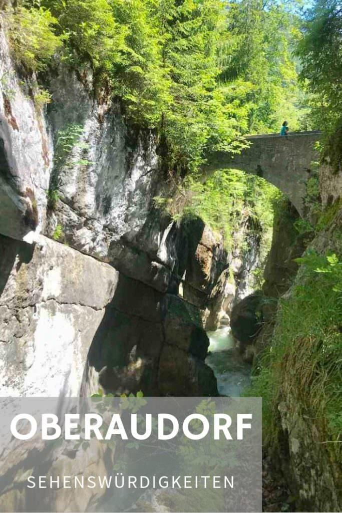 Merk dir gleich den Pin mit den schönsten Oberaudorf Sehenswürdigkeiten für deinen nächsten Ausflug oder Urlaub!