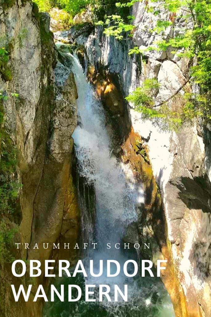 Tatztelwurm Wasserfälle wandern Oberaudorf